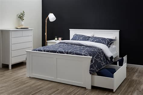 White Bedroom Furniture B M