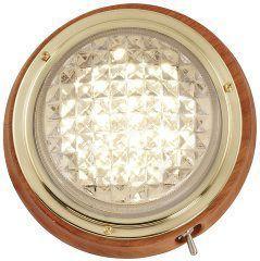 Teaklampe Led Belysning Bat Battilbehor Lampe Innredning Led Armatur Interiorlampe Biltema Teak Armatur Lamper