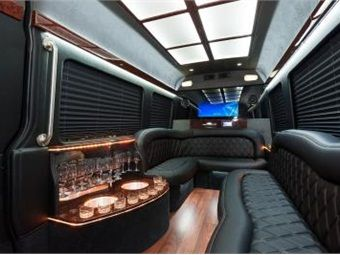 Mercedes Benz Sprinter Offers High Ceiling Limo Comfort