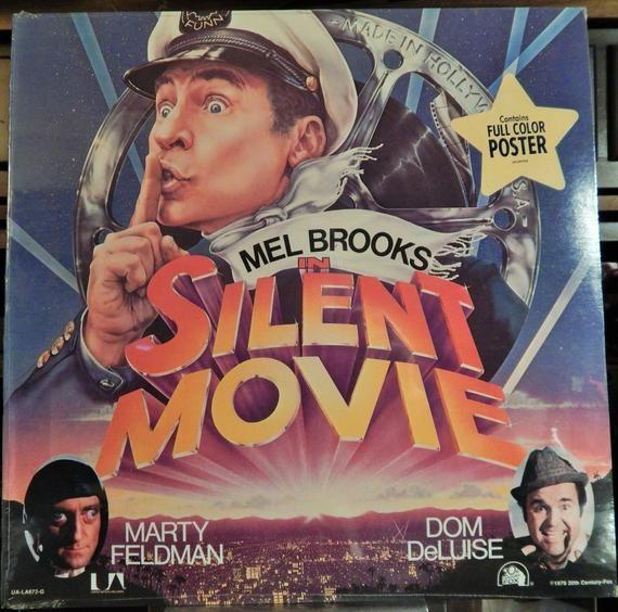 Silent Movie 1976 Music John Morris Mint 12 Vinyl Lp Original