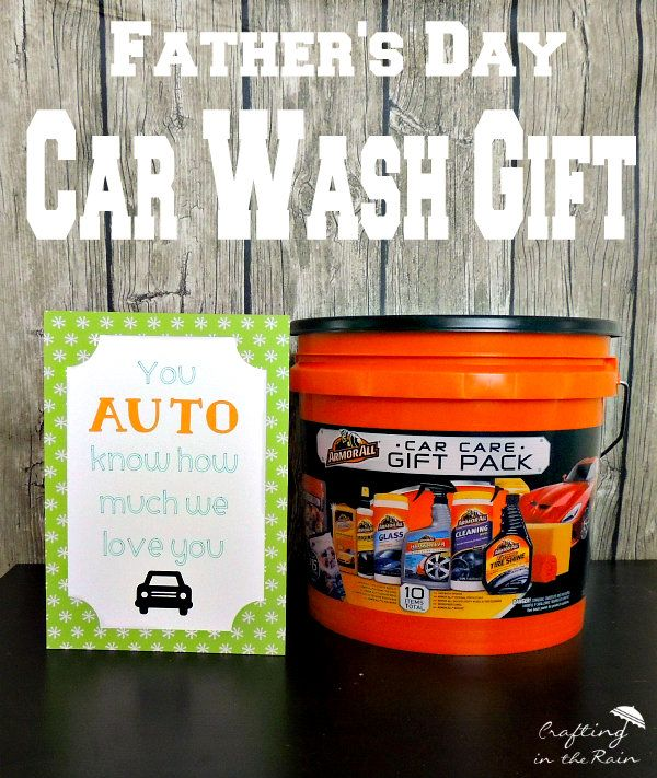 Car Wash Gift For Fathers Day