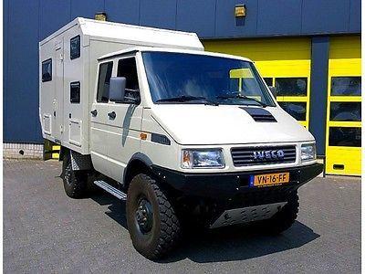 iveco daily 4x4 as a camper pickup in valkenburg. Black Bedroom Furniture Sets. Home Design Ideas