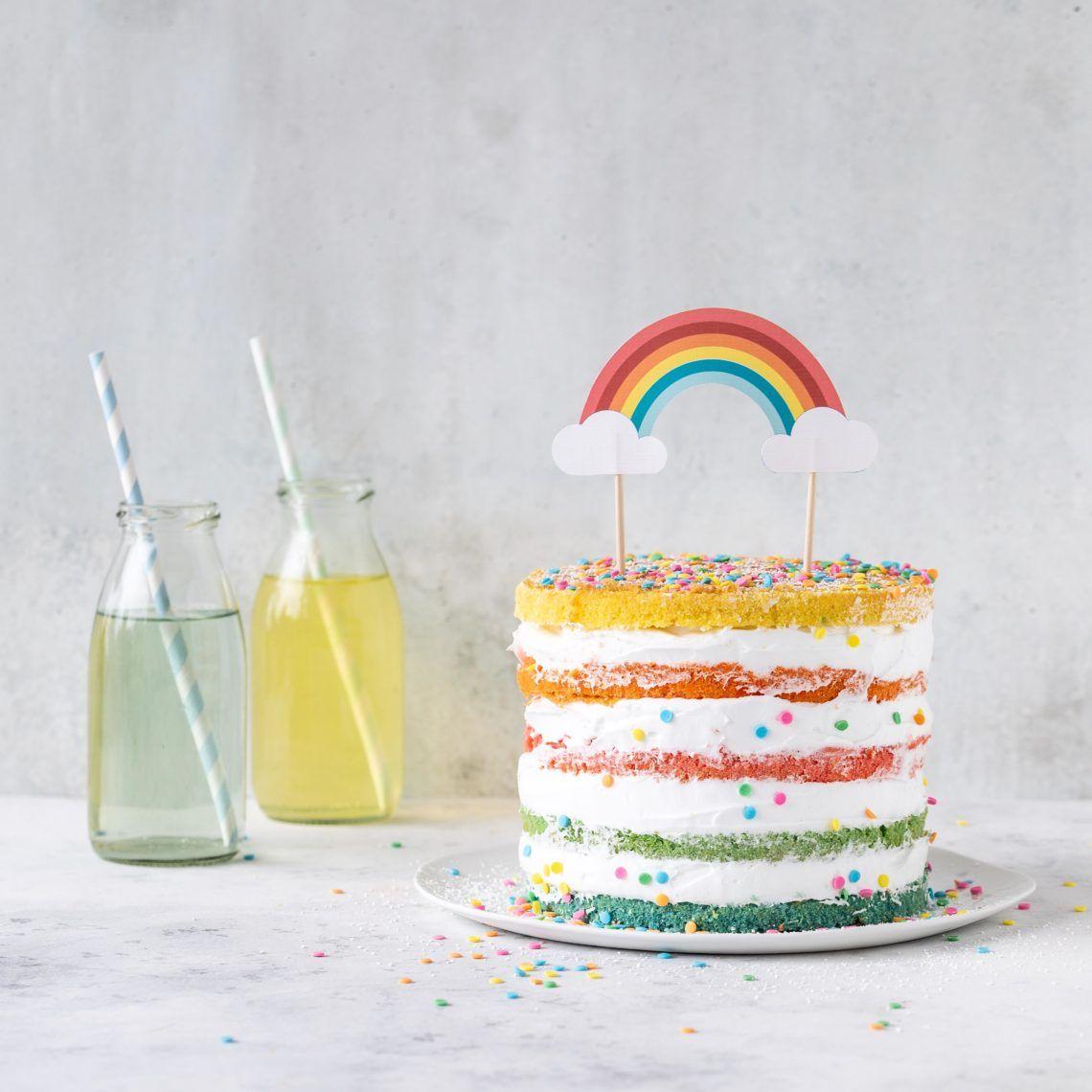 Glutenfreie Nussecken Eine Verlosung Emma S Lieblingsstucke Rezept Regenbogentorte Backen Mit Kindern Regenbogen Kuchen