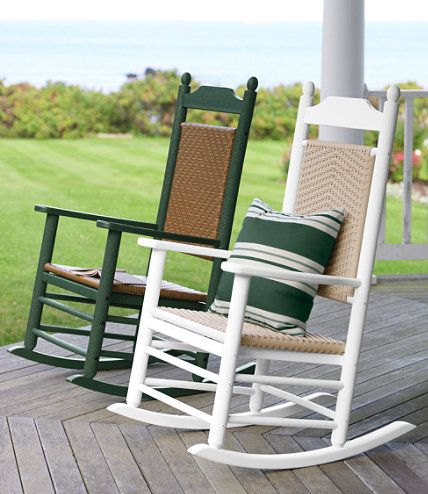 All-Weather Presidential Rocker: Seating at L.L.Bean | Ideas for the ...