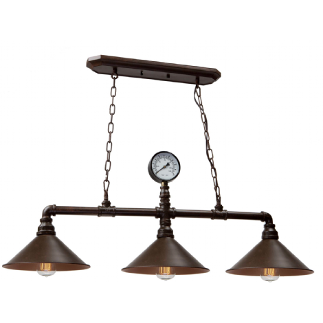 luminaire suspendu industriel vintage bronze cuivr cuisine pinterest luminaire suspendu. Black Bedroom Furniture Sets. Home Design Ideas
