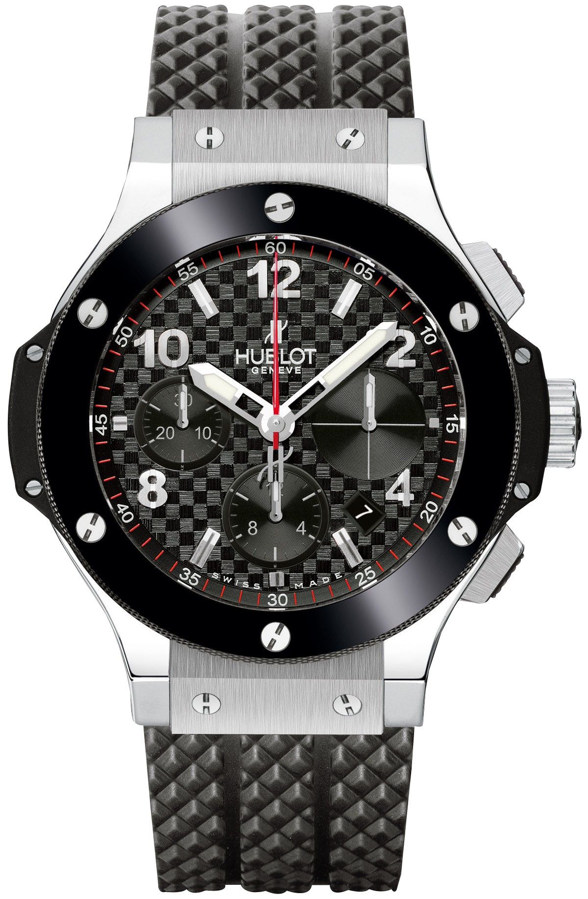 Hublot Big Bang 41MM Chrono Steel Mens Watch 342.SB.131.RX $9950