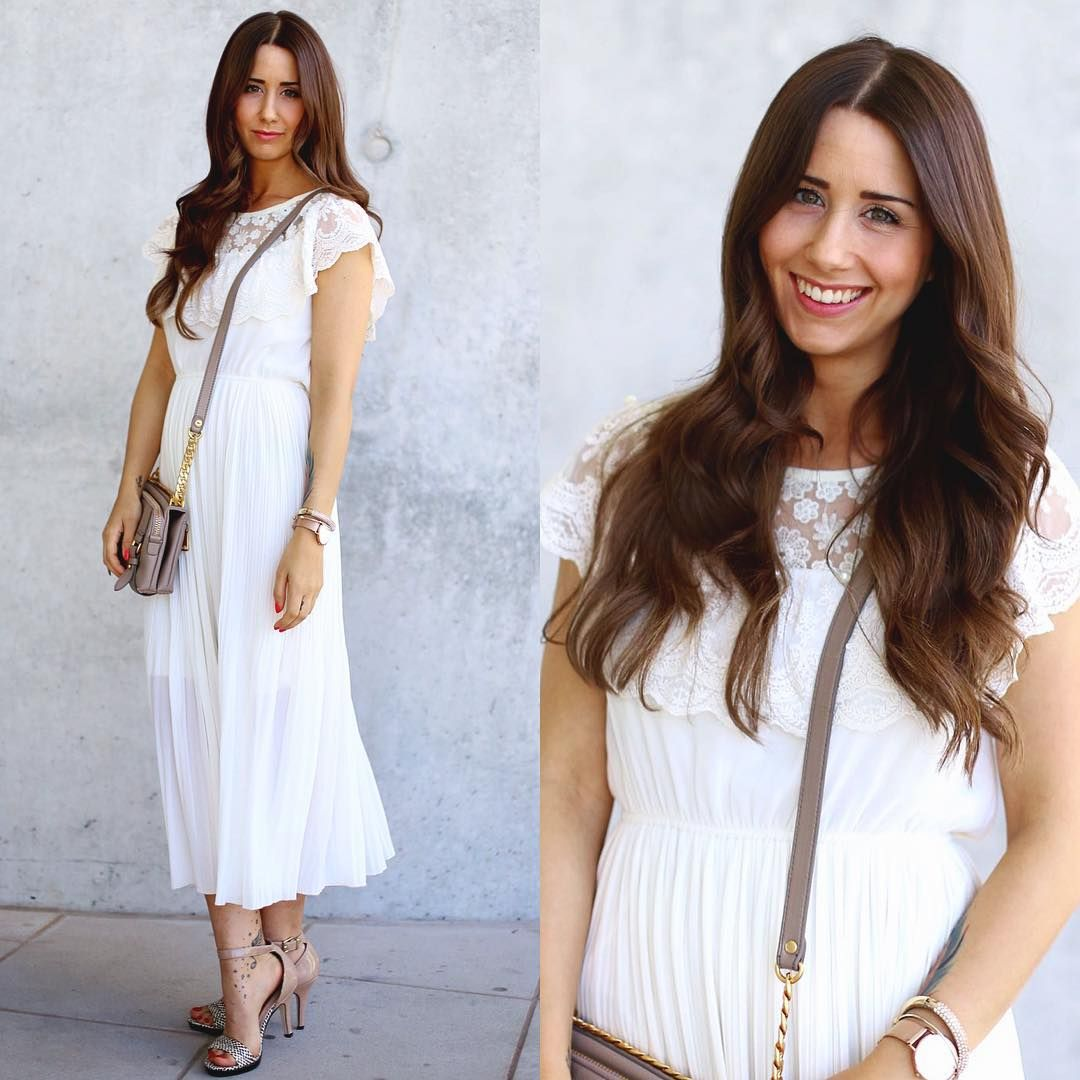 WHITE DRESS⚪ [www.loveandurban.com] #ootd #whitedress #blogpost ...
