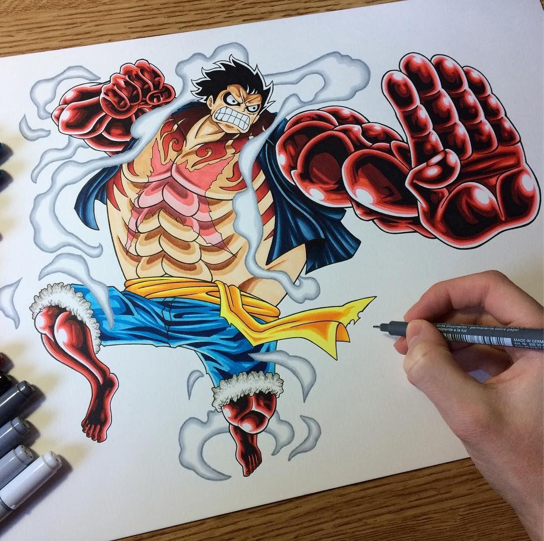 Luffy Gear 4 Tattoo: 2,686 Me Gusta, 25 Comentarios