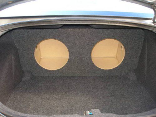 Zenclosures 2006 2010 Dodge Charger 2 12 Subwoofer Box Type 1 Subwoofer Box 12 Subwoofer Box Car Audio Subwoofers