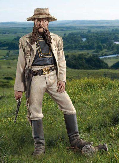 Cavalry Uniforms 7th Cavalry 1876 | 1st Lt. W.W. Cooke, 1876 S14-F04 54 mm 1/32 | 7th Cavalry, 1876 ...