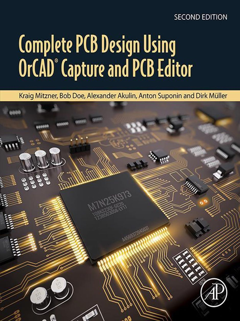 A Zcomplete Pcb Design Using Orcad Capture And Pcb Editor Sponsored Design Orcad C Pcb Design Electrical Engineering Books Schematic Design