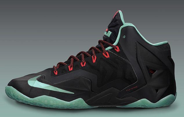 the latest e23d0 13757 Nike Lebron 11 - Black   Jade   KicksOnFire.com