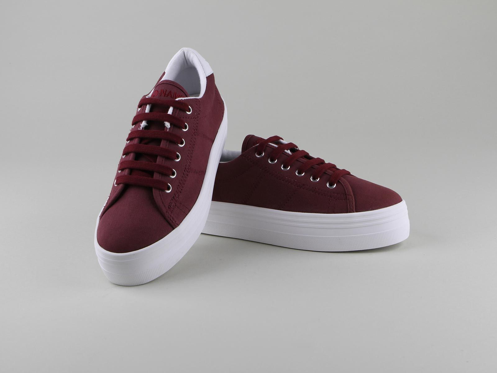 No Name PLATO SNEAKER  Chaussures Femme  Lacets