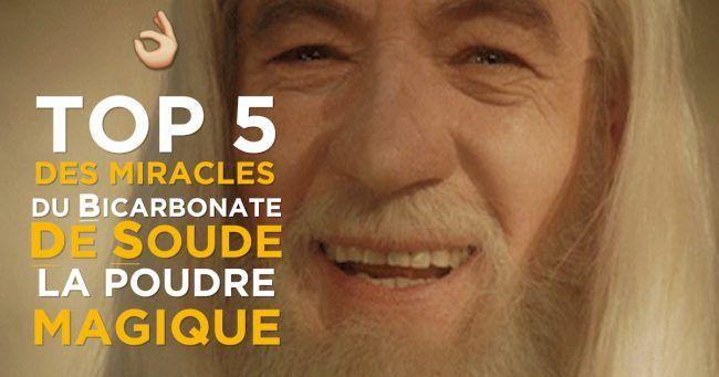 5 trucs des miracles du bicarbonate de soude la poudre