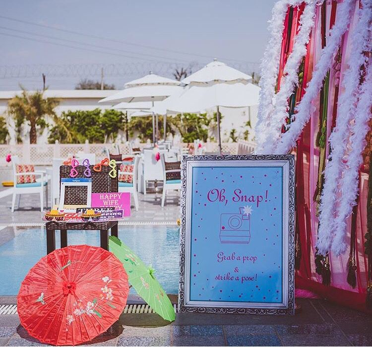 Wedding Altar Selfie: Creative Indian Wedding Theme Idea # Selfie Stand Idea