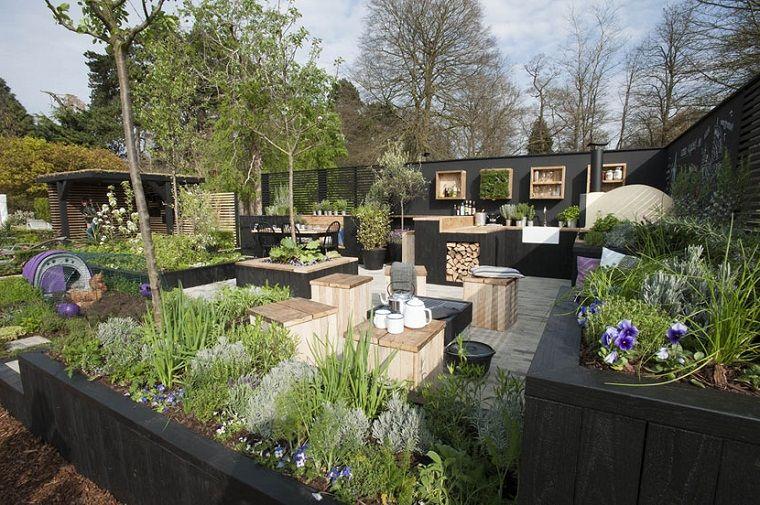 Giardini idee da copiare arredamento con una cucina da for Giardini idee piante
