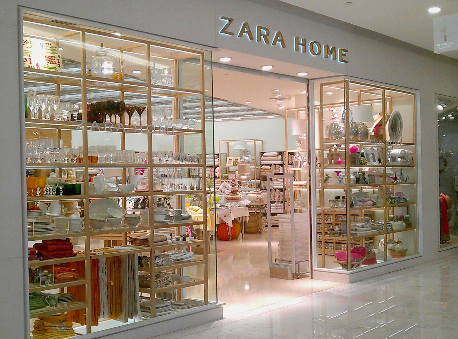 Zara home to open in toronto - Window Display Bangkok Thailand Zara Home Emquartier