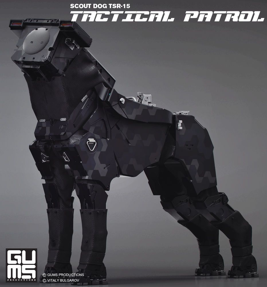 General News Scout Dog Tsr 15 Or 1 6 Robot Dogs Osw One
