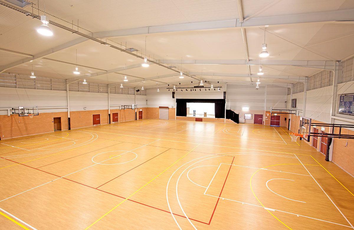 sport centre interior