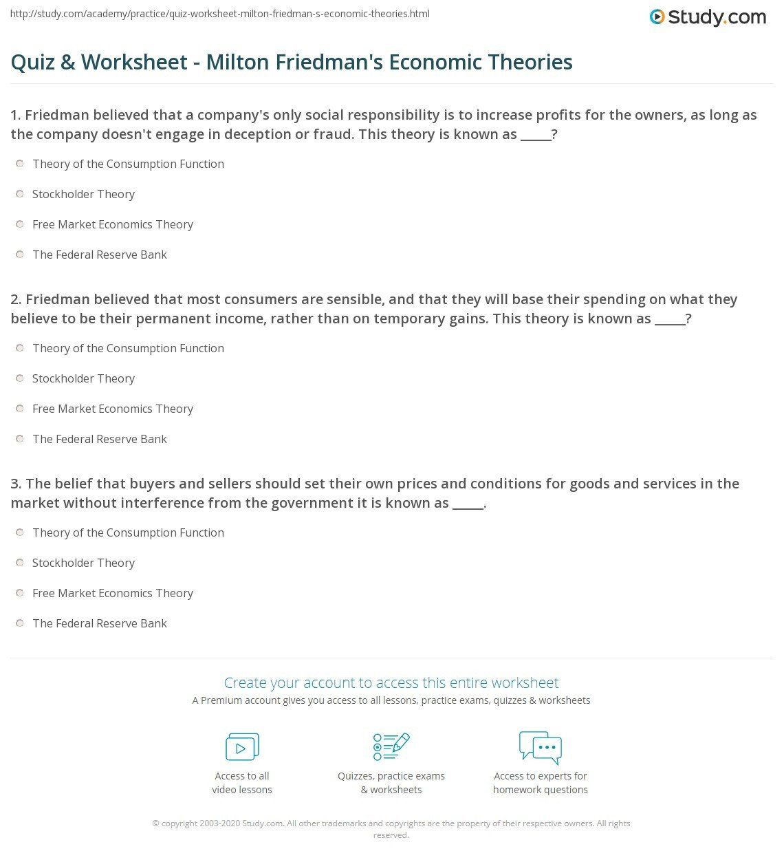 3rd Grade Economics Worksheet Printable Economics