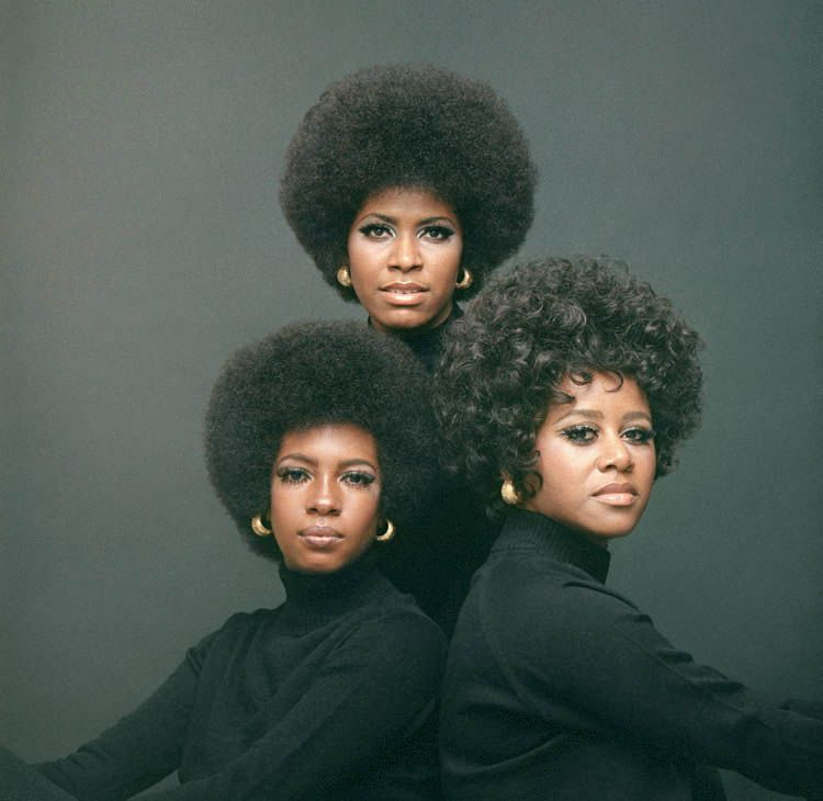 The Supremes, 1970 | Natural hair styles, Afro hairstyles, Black hair