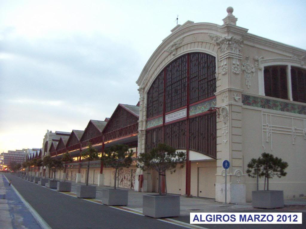 Circuito Valencia F1 : Tinglado del puerto de valencia hoy boxes del circuito de f