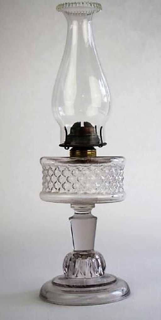 Dating glass oil lamps