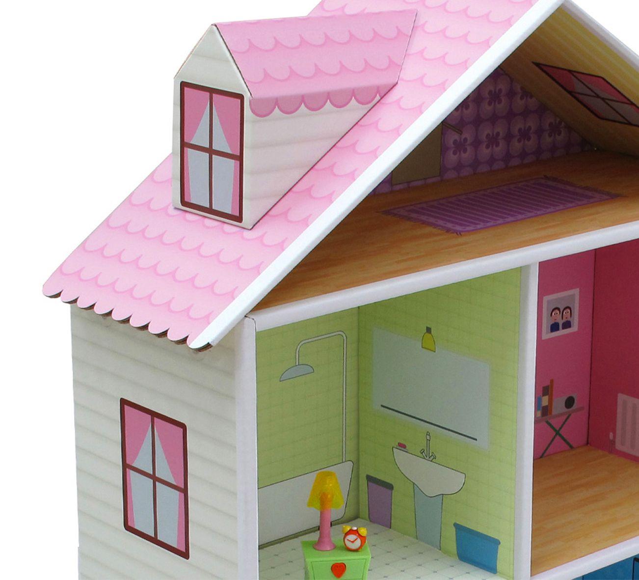 Tejado casa de muñecas Melrose | manualidades | Pinterest | Tejados ...