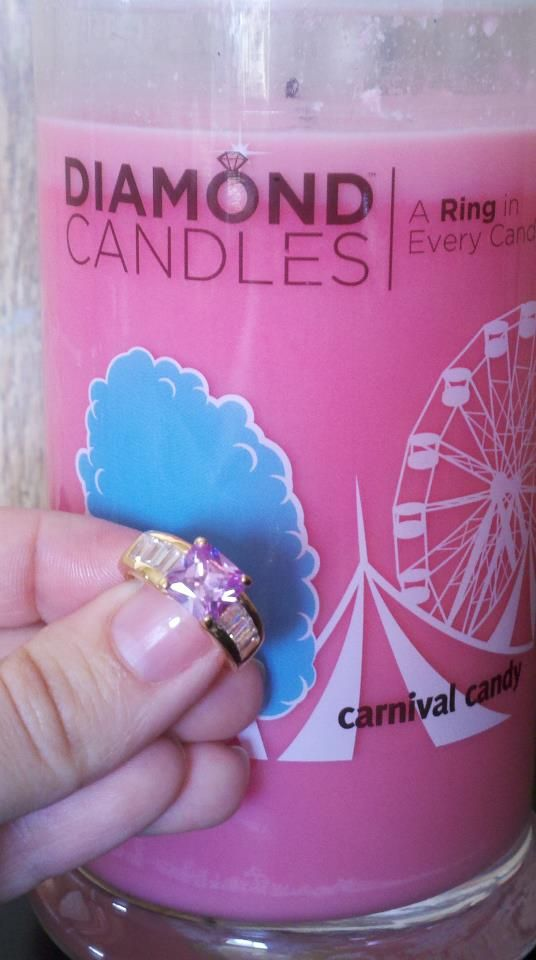 Carnival Candy gave some lucky lady a candy pink stone!
