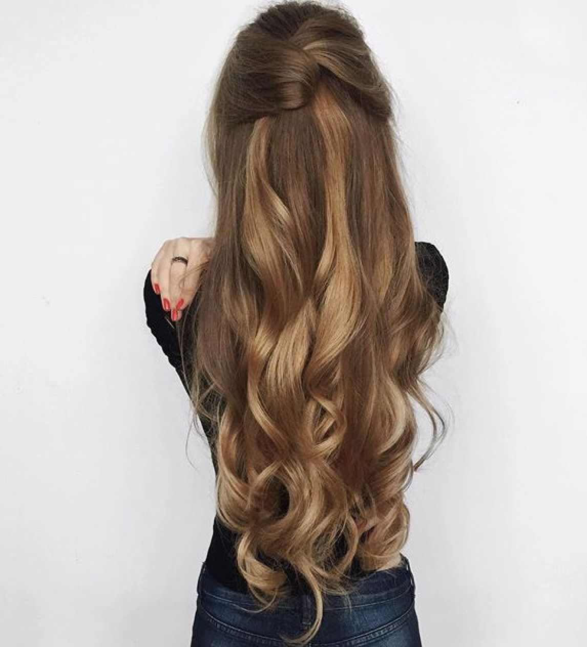 Pc Luxy Hair Instagram Long Hair Styles Hair Styles Long Hair Updo