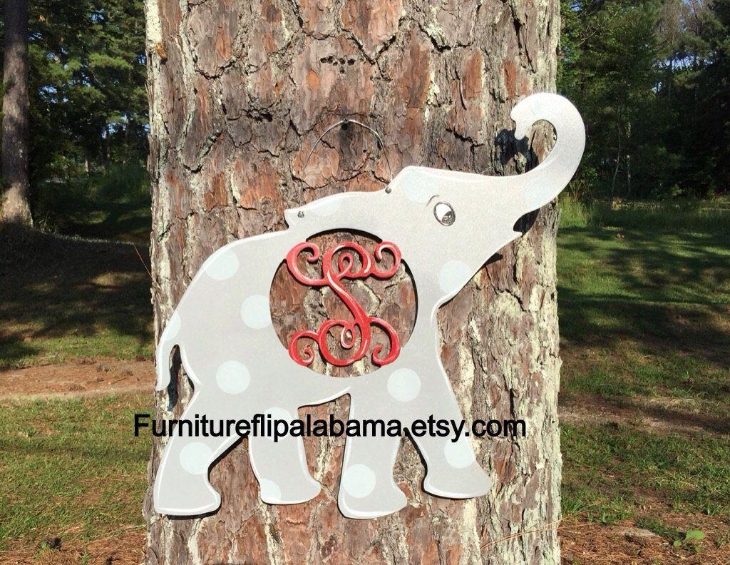 Alabama elephant door hanger university of al door hanger Alabama football door hanger & Alabama elephant door hanger university of al door hanger Alabama ...