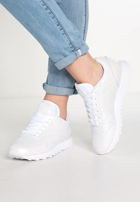 Baskets basses Reebok Classic CLASSIC LEATHER PEARLIZED - Baskets basses -  white blanc  69, 73de841bfb0f