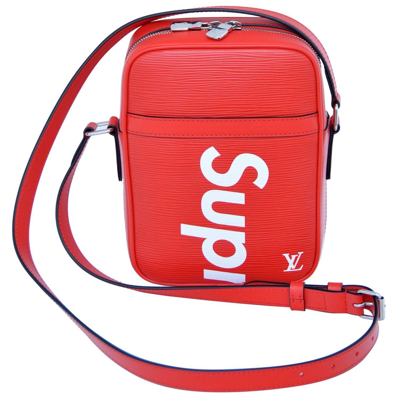 153200f0c9e3 Supreme Louis Vuitton Red Shoulder Bag Danube RARE Pop-Up Exclusive ...