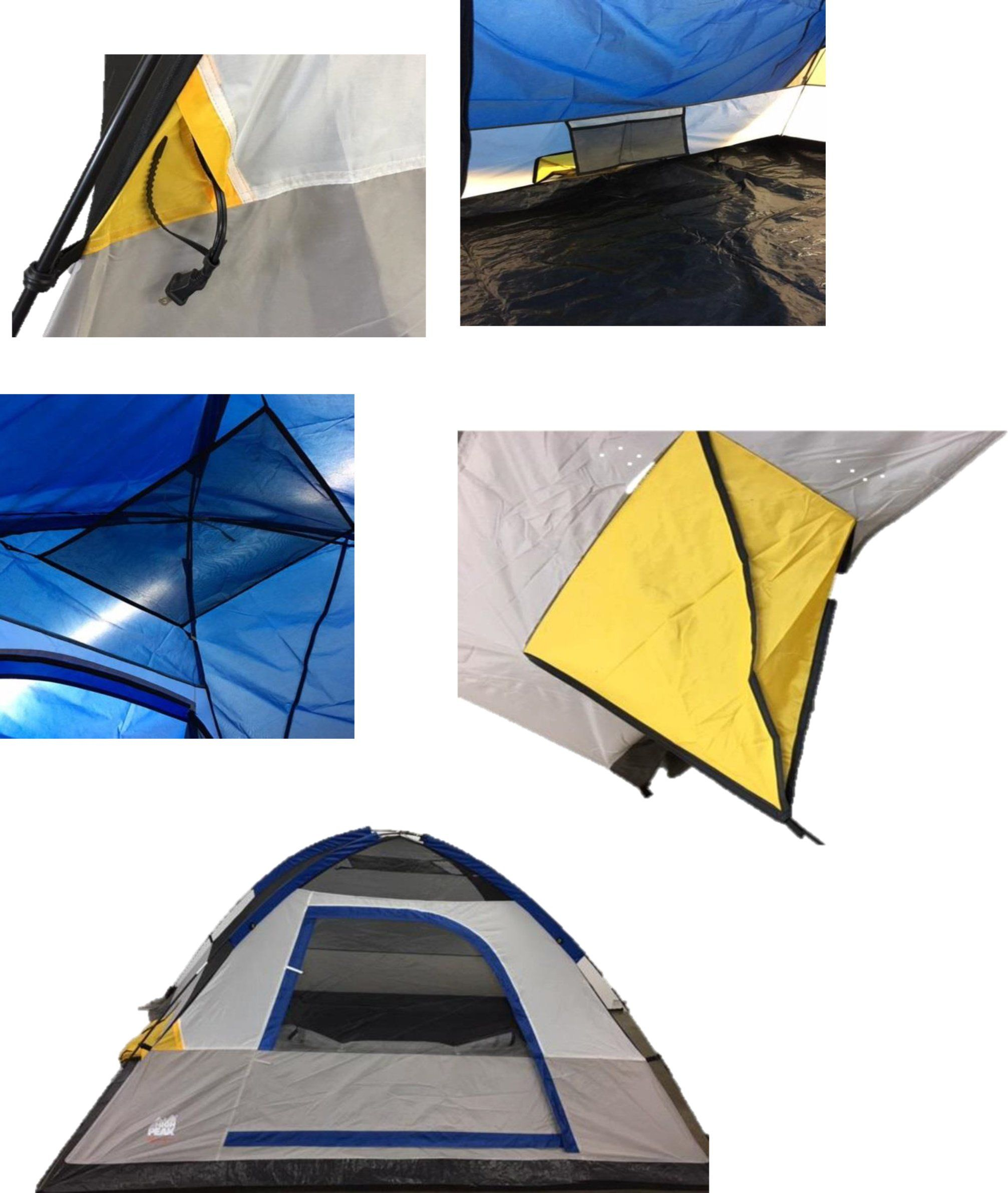 High Peak USA Alpinizmo Ultra Lite 20F Water Proof 0F Sleeping Bag and 5 Men Tent Combo One Size Blue/Orange u003eu003eu003e Read more at the image link.  sc 1 st  Pinterest & High Peak USA Alpinizmo Ultra Lite 20F Water Proof 0F Sleeping Bag ...