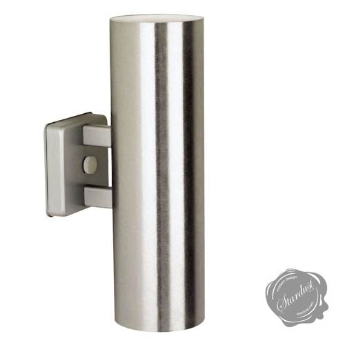Cylinder Outdoor Up Down Wall Sconce Mid Century Modern Light Fixtures Modern Outdoor Sconces Outdoor Sconces Mid Century Modern Lighting