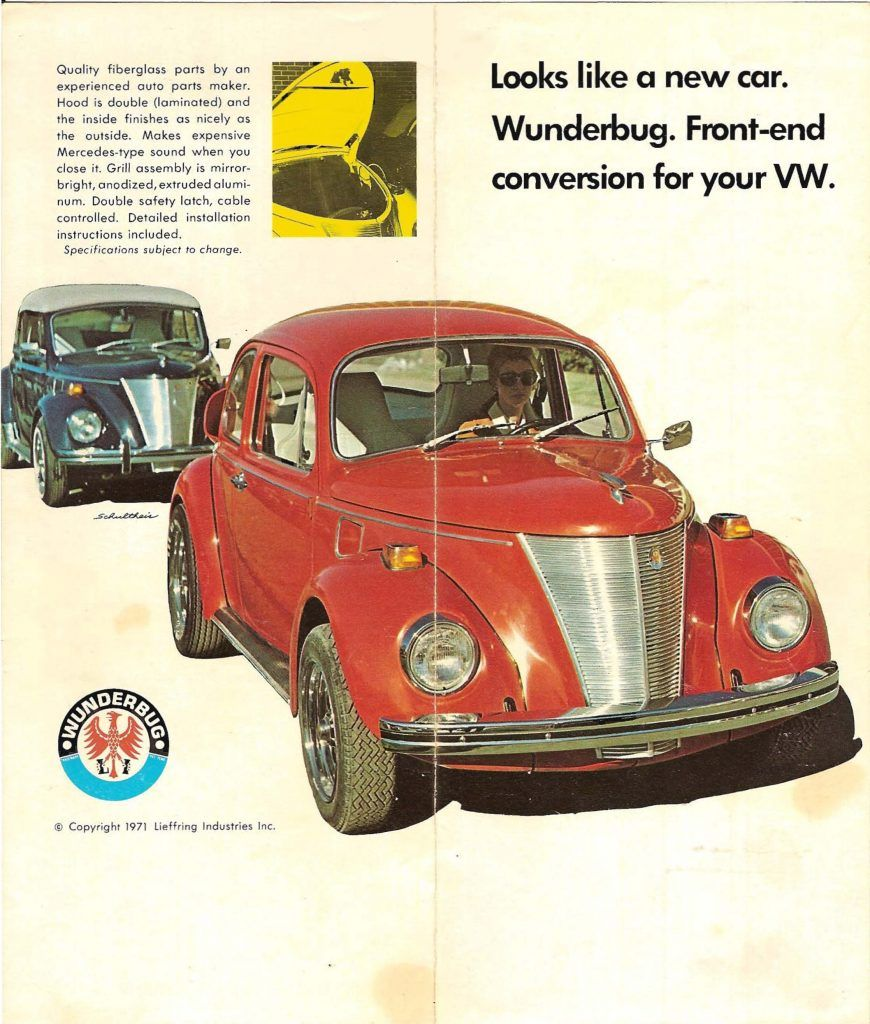 "The ""Wunderbug"" Conversion Was A Kit For Standard Beetles"