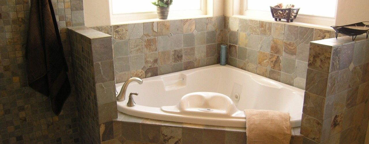 Custom Master Bath With Jetted Tub Custom Home I Built