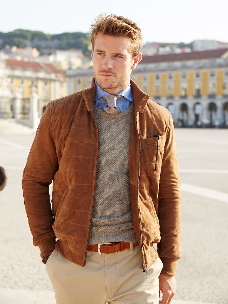 Autumn colors in the Fall Winter collection Sacoor Brothers