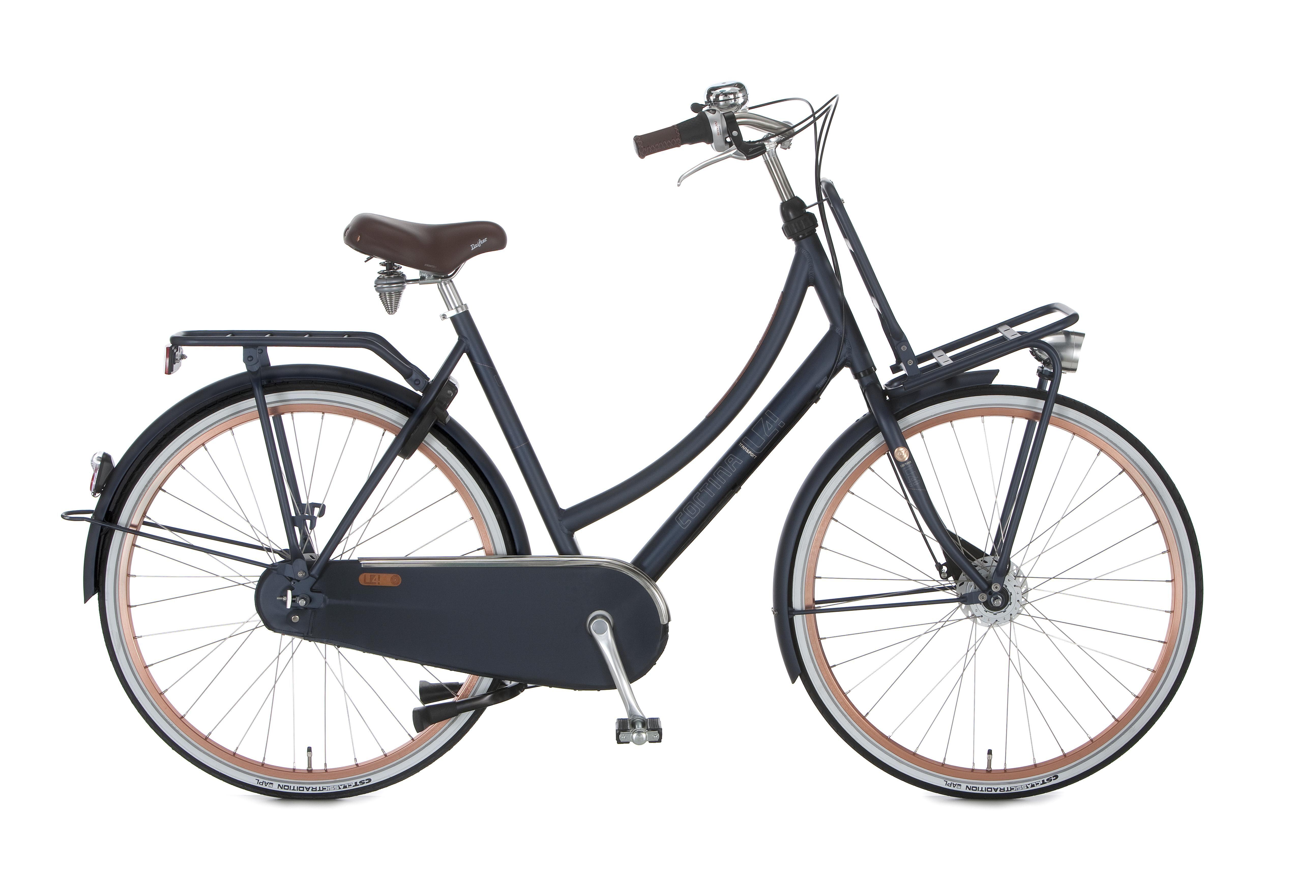 Cortina U4 Transport Denim N7 2016 Dame Cykel Cykler