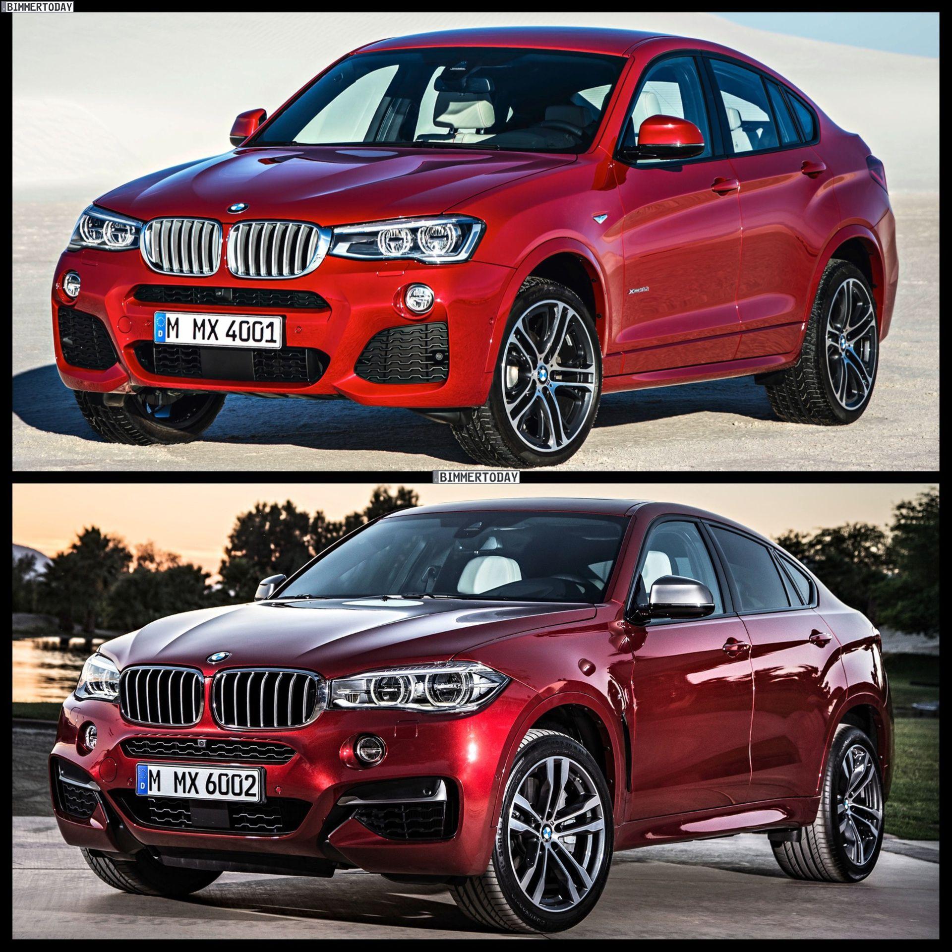 Bmw X6 Tuning: 2015 BMW X4 Vs 2015 BMW X6