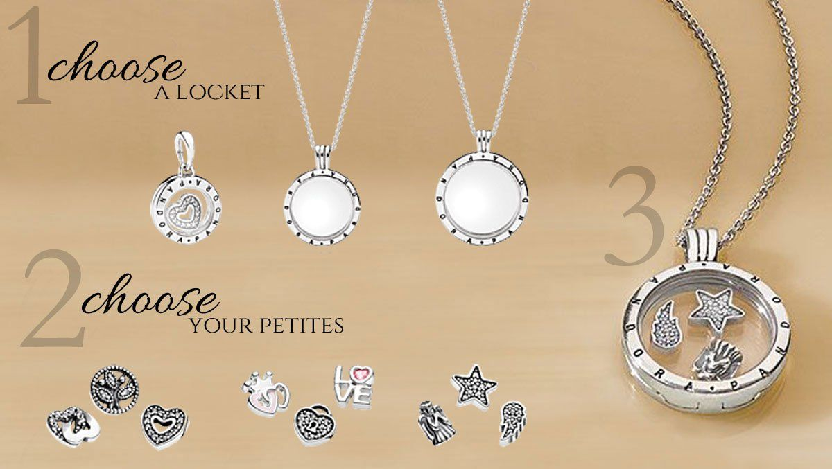 c2fc9203c Creating a PANDORA Petite Memories Locket at www.BeCharming.com ...