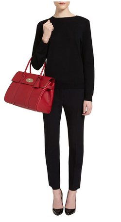 Mulberry Bayswater Poppy Red