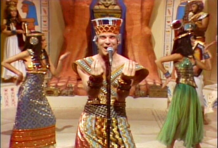I loved the King Tut bit that he did on SNL.