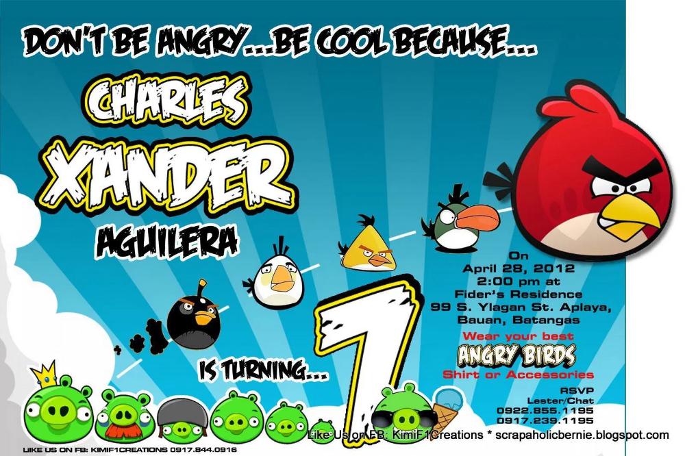 Birthday Invitation Angry Birds Invitations Superb Invitation Superb Invitation Bird Invitation Bird Birthday Parties Invitations