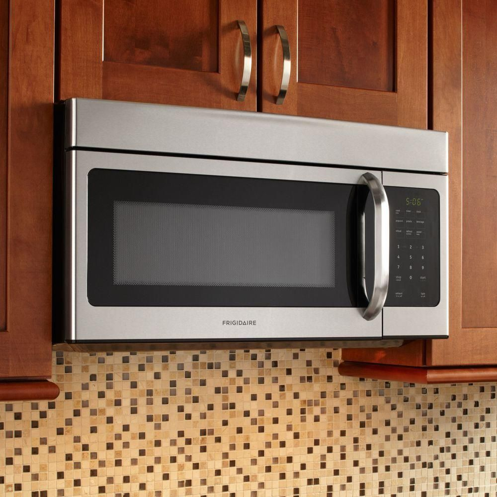 Frigidaire Ffmv164ls 1 6 Cu Ft Capacity Over The Range Microwave