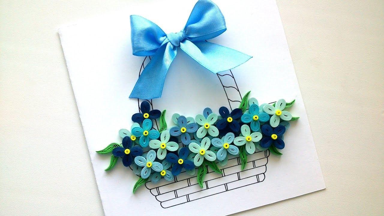 Посвящение, открытка из цветов своими руками на день рождения