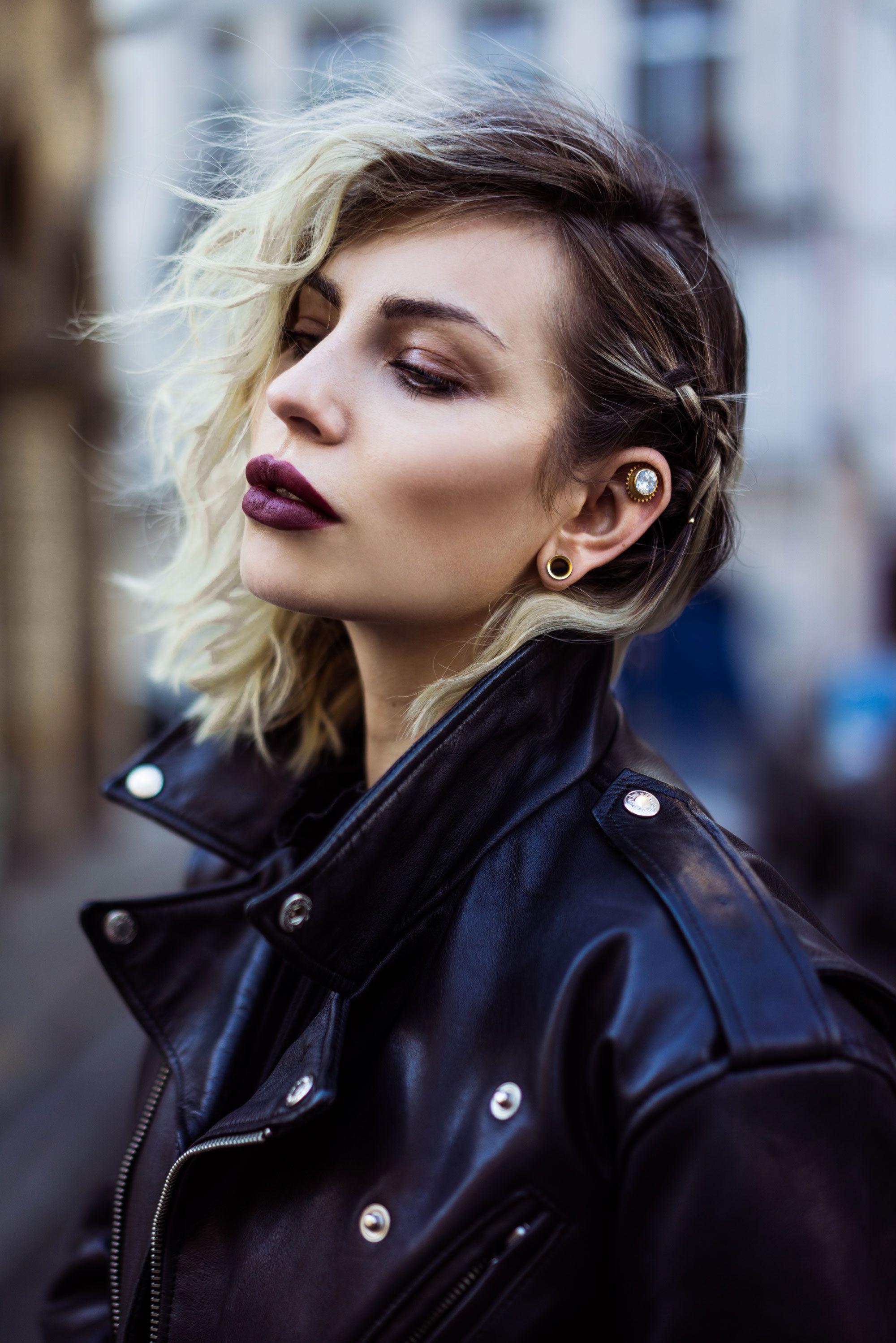 Fashion week hair styles easy u quick edgy style pinterest