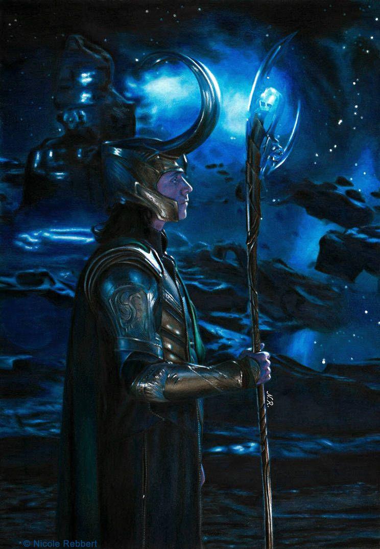 Loki of Asgard (redraw) by Quelchii on DeviantArt