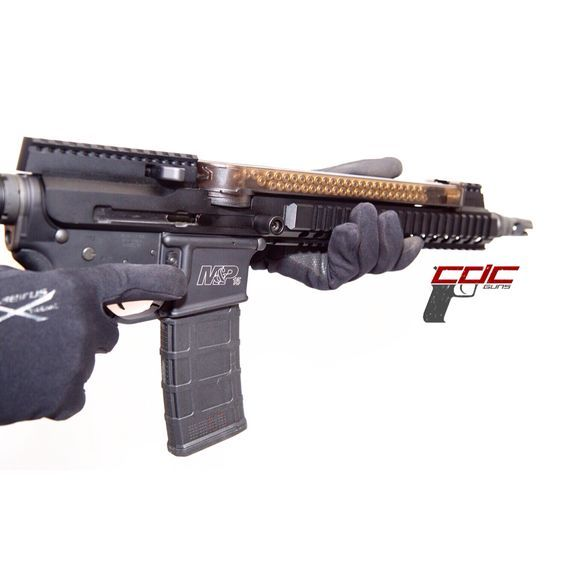 """Say hello to my little friend."""" 