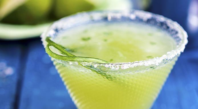 Margarita al cetriolo